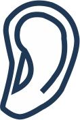 ikona ucho