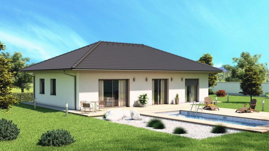 model bungalov