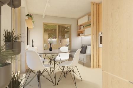 kuchyňa a obývačka modulu