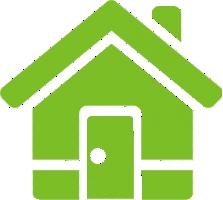 ikona zelený dom