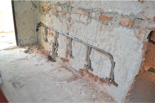 rekonštrukcia múru steny