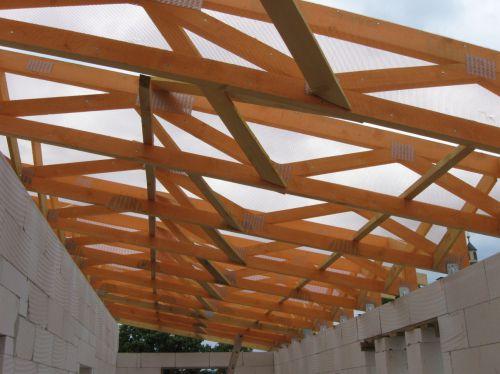 drevené priehradové väzníky