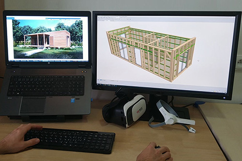 modulový drevodom - plánovanie